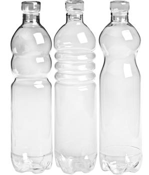 Ladies' GadgetsPlastic-Looking Glass Water Bottles ...