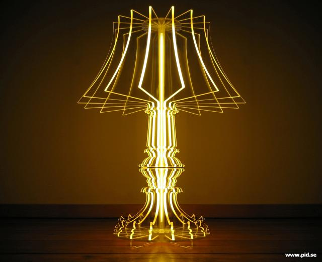 Ladies 39 gadgetsmodern lamp design by buro vormkrijgers ladies 39 gadgets - Contemporary table lamps design ideas ...
