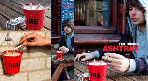 The Fire Bucket Ashtray