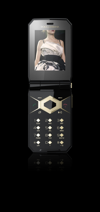 Sony Ericsson Presents Jalou by Dolce&amp;Gabbana Luxury Cell Phone (3)