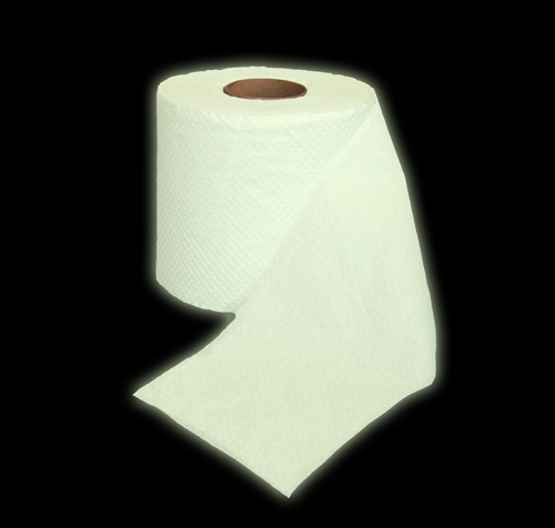 The Glow in the Dark Toilet Paper Roll