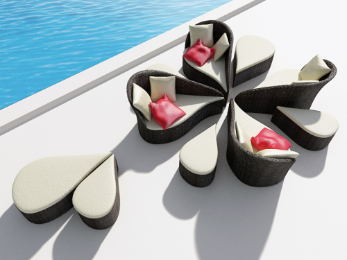 Fiore Sofa Inspired by Flowers (3)