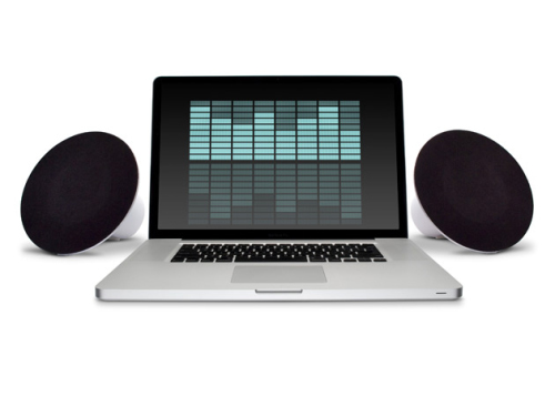 LaCie Sound2 Laptop Speakers by Neil Poulton (2)