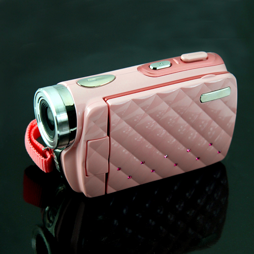 Ladies Gadgetspink High Definition Video Camera With