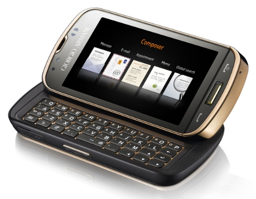 The new Giorgio Armani Samsung B7620 Smartphone