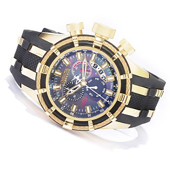1 Invicta Reserve Men's Limited Anniversary Edition Swiss Quartz Chronograph Strap Watch