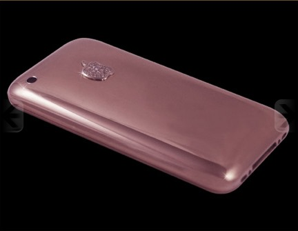 Goldstriker Announces the 18ct Solid Rose Gold iPhone 3GS Diamond and the Gucci Pink Diamond Belt (3)