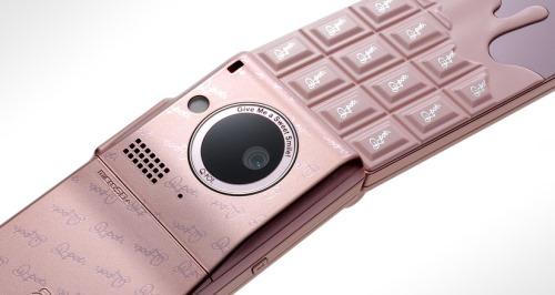 NTT Docomo SH-04b The Chocolate Phone by Q-Pot (16)