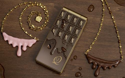 NTT Docomo SH-04b The Chocolate Phone by Q-Pot (4)