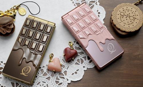NTT Docomo SH-04b The Chocolate Phone by Q-Pot