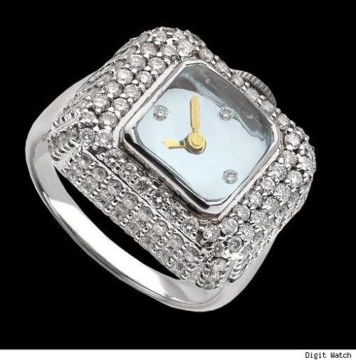 The Diamond Ring Watch From Mo Eden