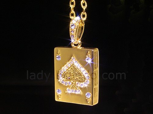 The USB Jewel ACE Necklace Flash Drive (2)