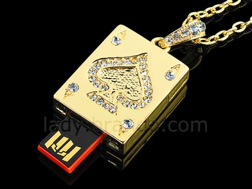 The USB Jewel ACE Necklace Flash Drive (4)