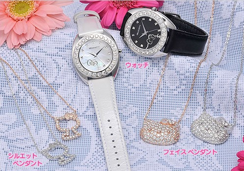 Hello Kitty Enlightened Swarovski Elements Watch  (2)