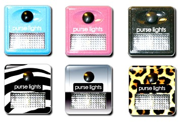 Purse Lights in Different Designs