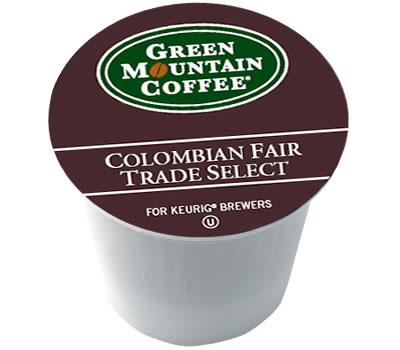 Win a box of Colombian Fair Trade Select Coffee K-Cups