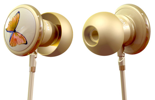 Butterfly Earphones by Monster and Vivienne Tam