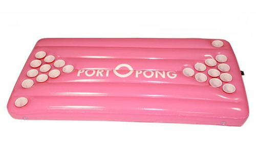 Portopong Worlds First Inflatable Beer Pong Table