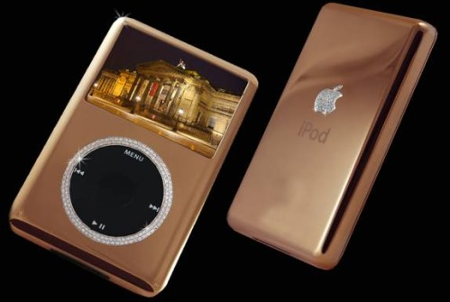 iPod Supreme Rose Gold Edition by Stuart Hughes