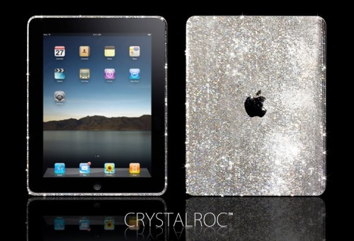 CrystalRoc Apple iPad in Diamonds and Swarovski Crystals
