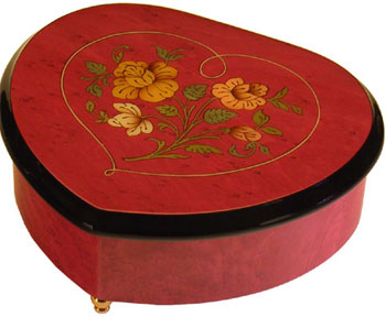Beautiful Inlaid Music Boxes
