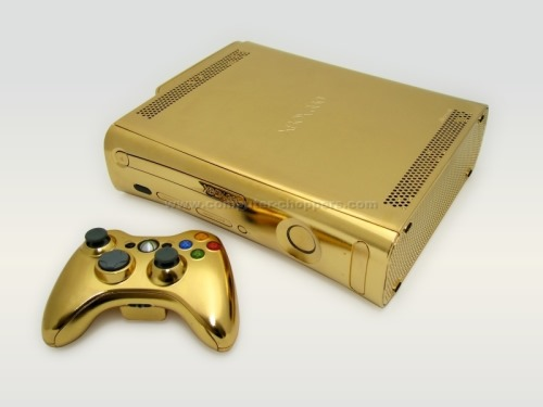 The 24kt Gold Xbox 260 From Computer ChoppersXbox 260