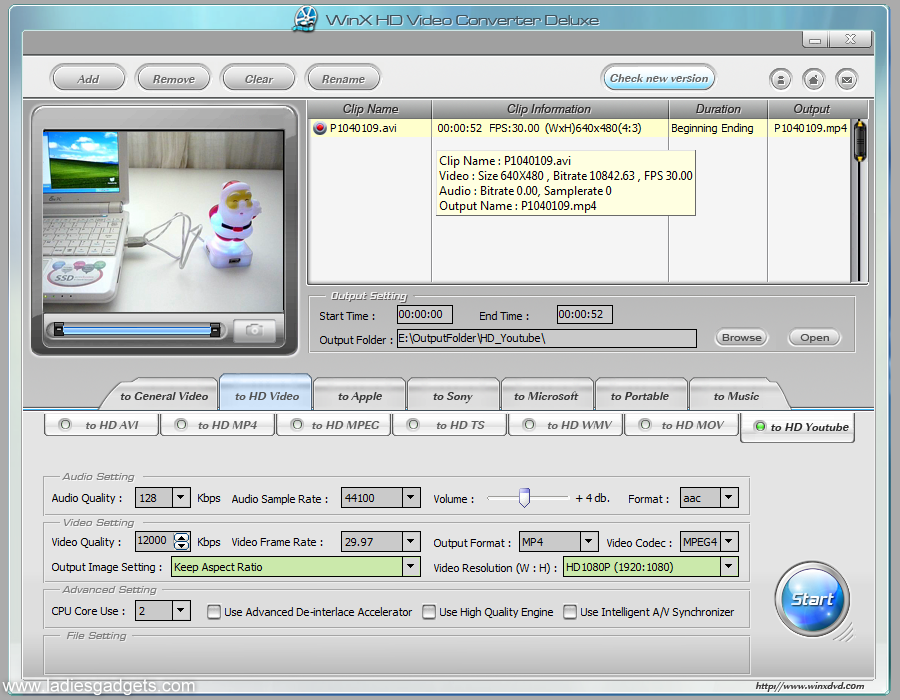 WinX HD Video Converter Deluxe Giveaway Winners