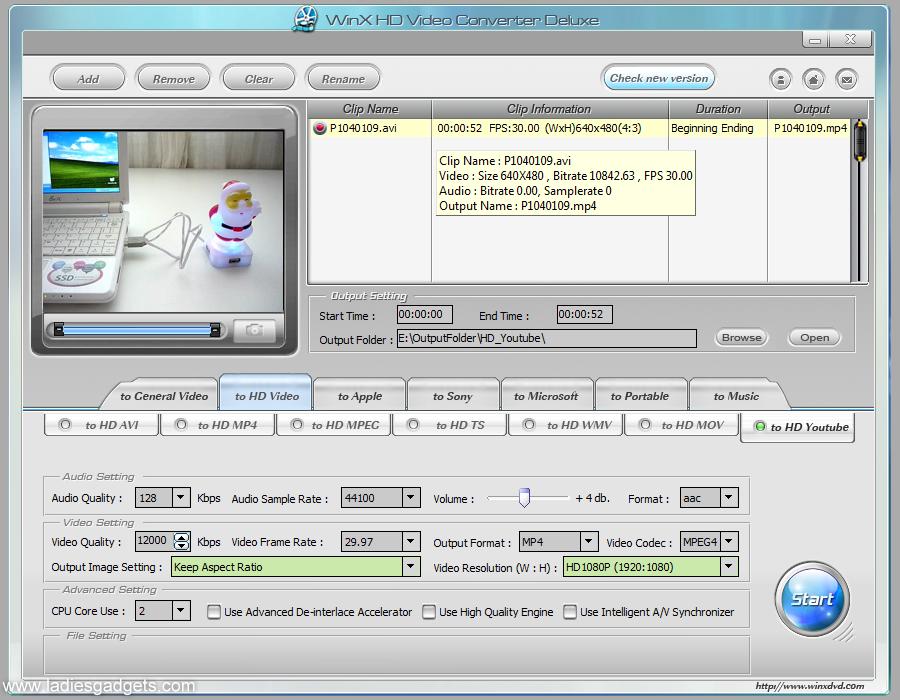 WinX HD Video Converter Deluxe Giveaway Winners