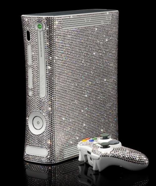 Xbox Full of Swarovski Crystals