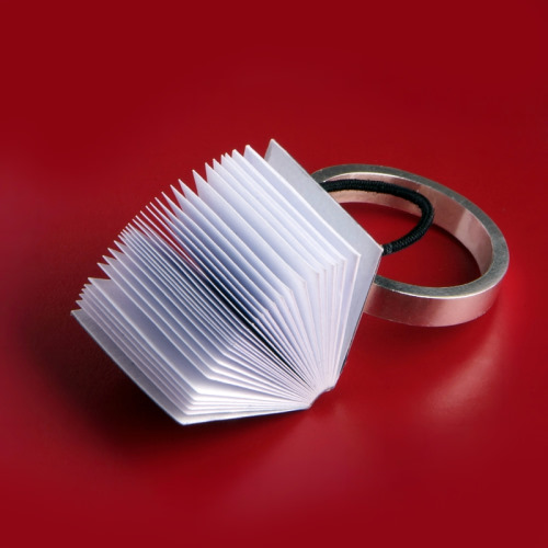 Book Rings by Ana Cardim