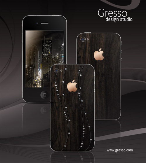 Gresso iPhones Made From African Blackwood