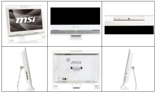 MSI Wind Top AE1920 With Multi Touch Screen and Transparent Frame