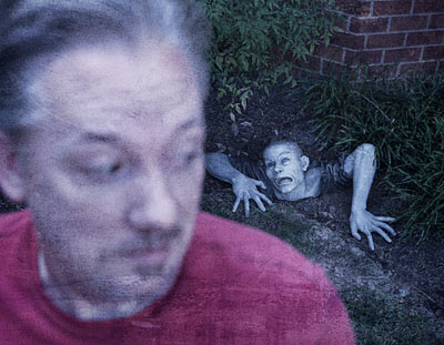 Theres a Zombie on Your Lawn