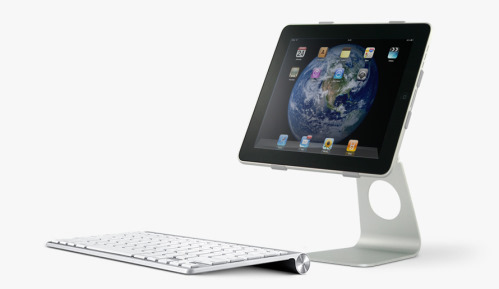 iHolder Aluminum iPad Stand Turns Your iPad Into an iMac