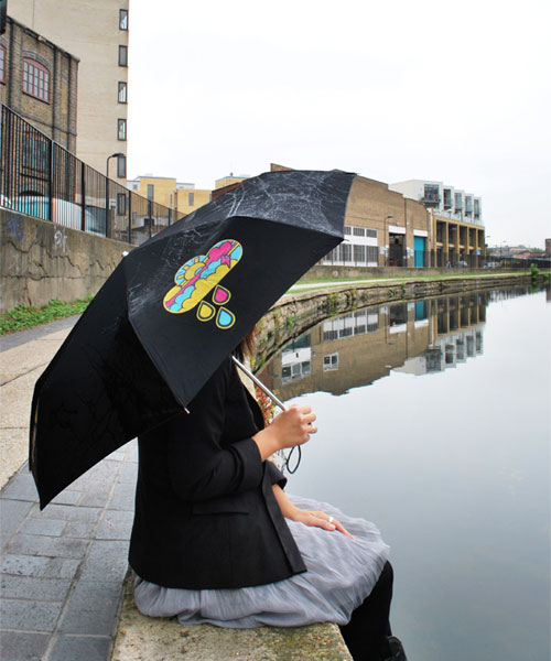 Color Changing Umbrella Makes an Unique Gift Idea
