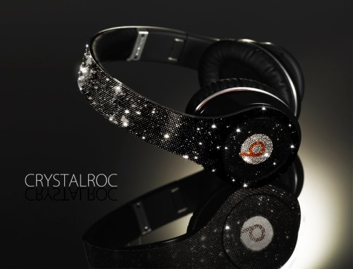 Dr Dre Beats Studio Headphones Crystallized by CrystalRoc
