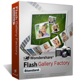 Get Your License of Wondershare Flash Gallery Factory Standard for Free