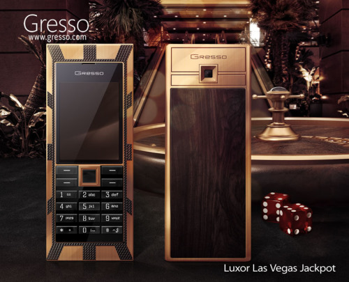 Luxor Las Vegas Jackpot 1000000 dollar Phone From Gresso