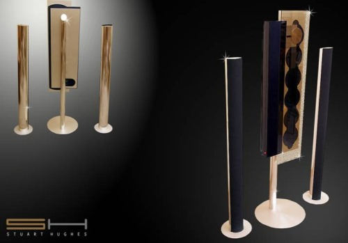 Bang Olufsen Beosound Gold and Diamond Edition by Stuart Hughes
