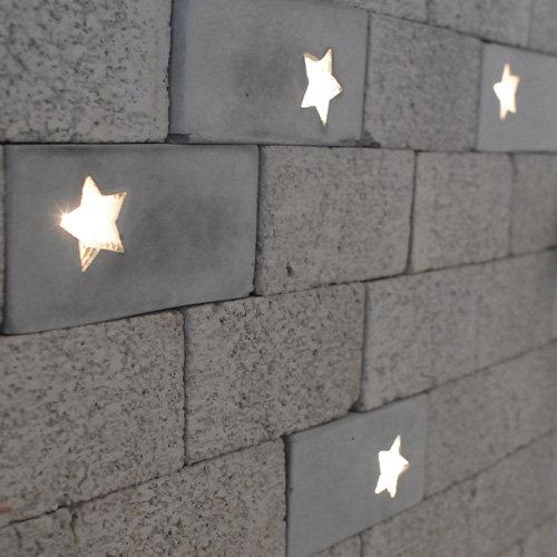 Brick Lights for a Walking Among Stars Feeling