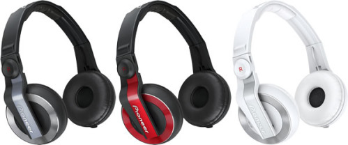 New Pioneer Headphones for DJs
