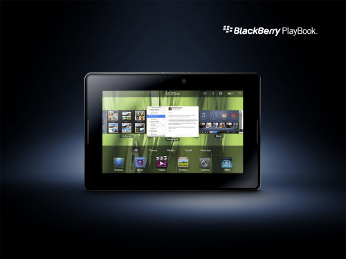 New Tablet Computer Unveiled BlackBerry PlayBook