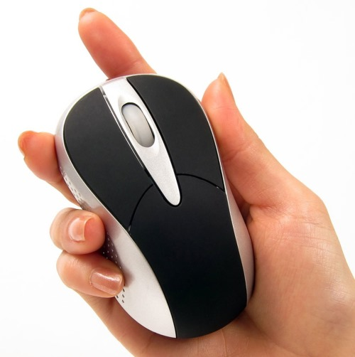 Wireless Silent Mouse With Laser Tracking