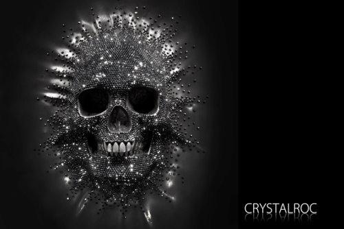 CrystalRoc Skull Behind The Wall