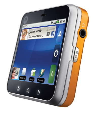 Flipout New Motorola Android Phone With Swivel System