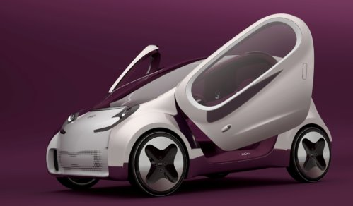 Ladies GadgetsKIA POP Dash Concept Car At The Paris Show Ladies - Cool kia cars