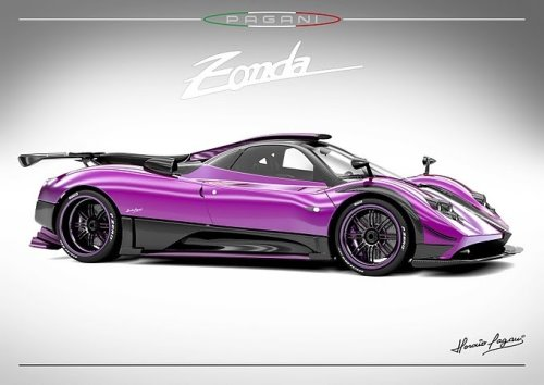 New Zonda 750 From Pagani Zonda
