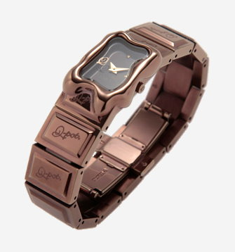 Q pot Melty Chocolate Watch