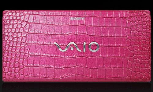 Sony Crocodile Pink Mini Laptop