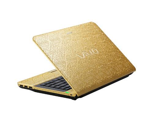Sony Vaio Signature Arabesque Gold
